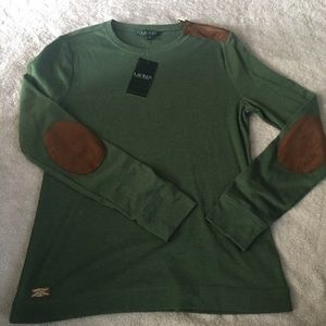 New Ralph Lauren Green Sweater
